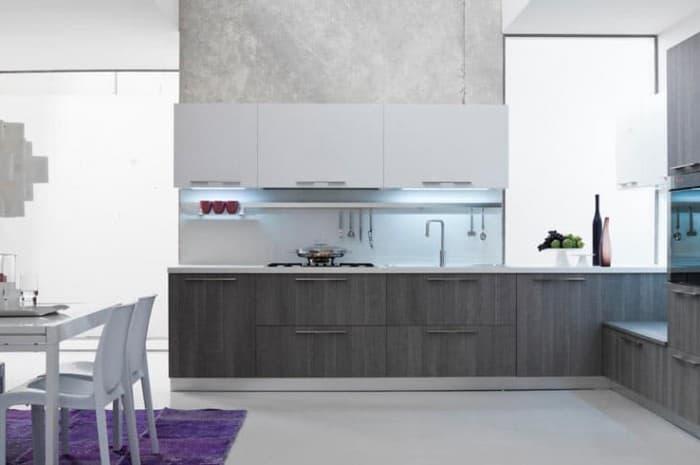 cucina-moderna-colore-grigio