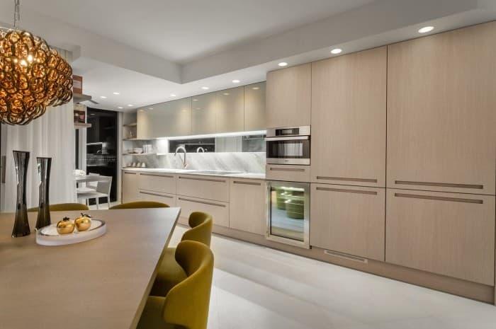 cucina-moderna-color-marrone