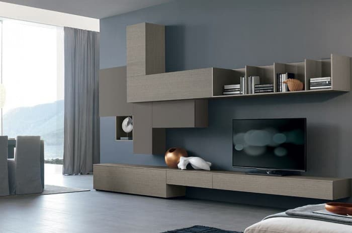 mobilia-soggiorno-colore-marrone