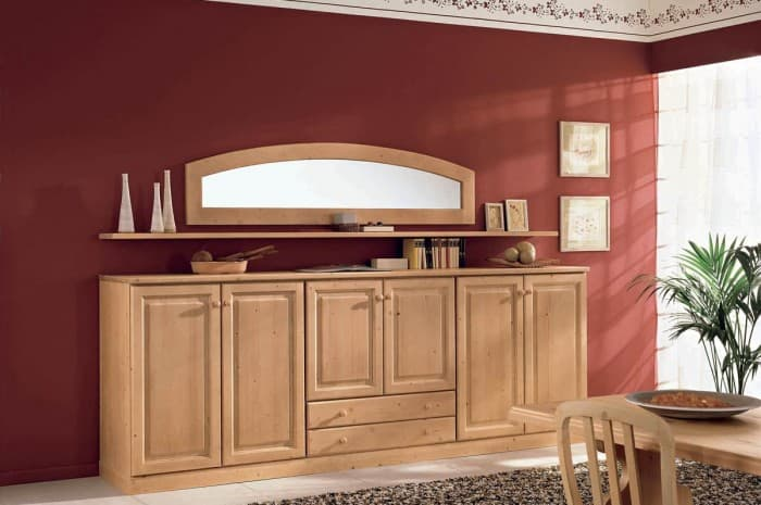 mobile-soggiorno-legno-stile-classico
