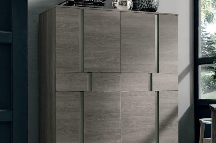 mobile-armadio-soggiorno-colore-marrone