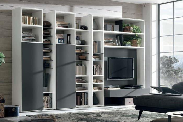 mobilia-soggiorno-scaffalatura