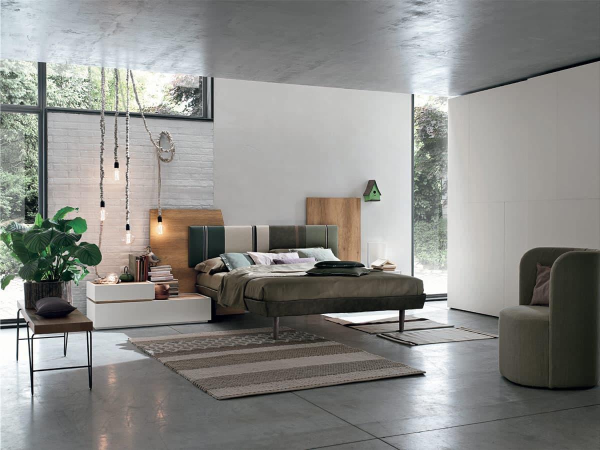 Zona notte mobili per camere matrimoniali e camerette per for Mobili zona notte