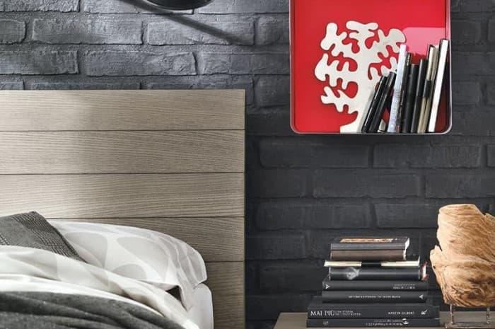 mobilia-stile-moderno-parete-finto-muro-colore-grigio