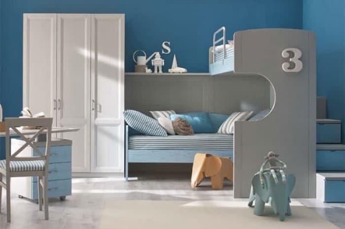 camera-colori-chiari-con-letto-a-castello