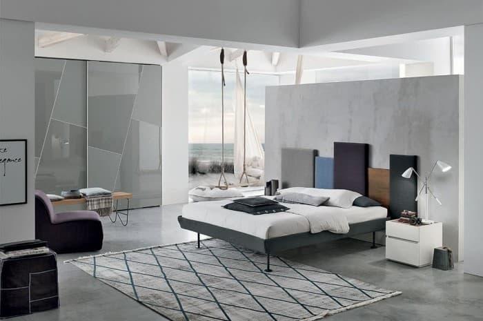 camera-con-armadio-stile-moderno-scorrevole