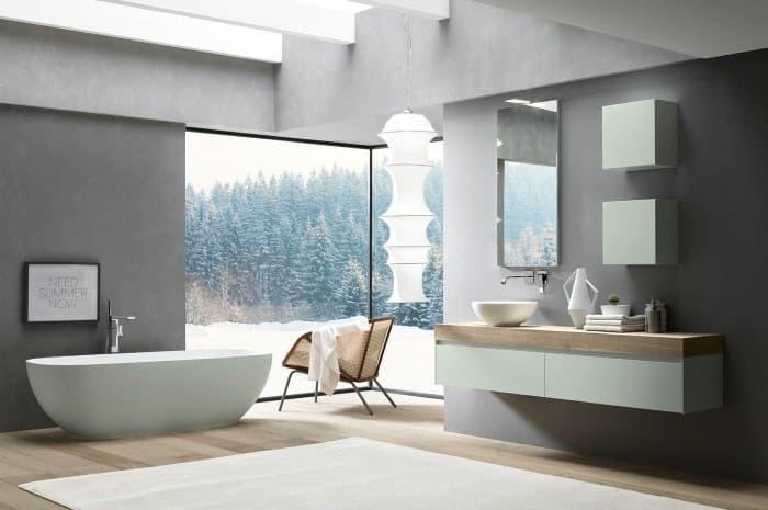 bagno-moderno-con-vasca-e-elementi-di-colore-bianco
