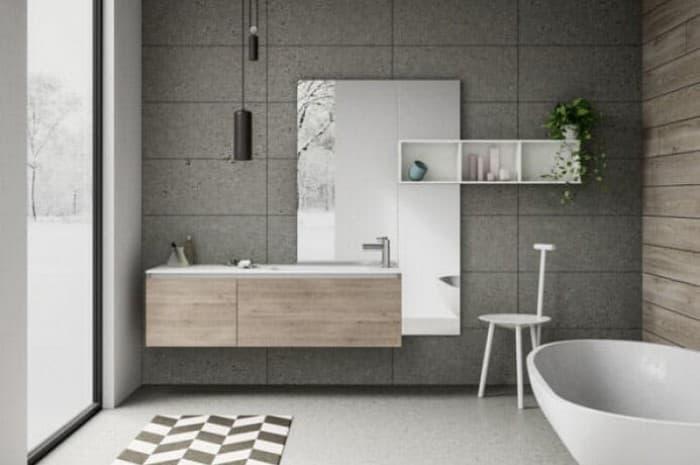 bagno-moderno-con-parete-grigia